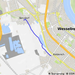 Knotennetz NRW Wesseling (74) - Wesseling (79)