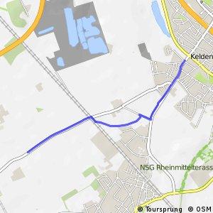 Knotennetz NRW Wesseling (74) - Bornheim (80)