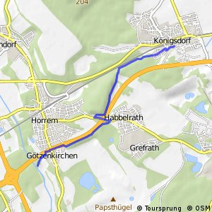 Knotennetz NRW Frechen (35) - Kerpen (46)