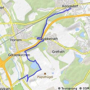 Knotennetz NRW Frechen (35) - Kerpen (47)