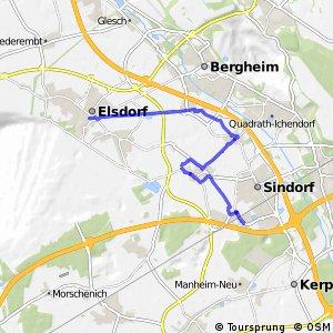 Knotennetz NRW Elsdorf (18) - Kerpen (44)