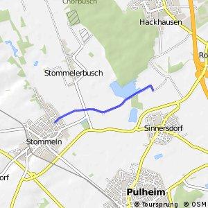 Knotennetz NRW Pulheim (29) - Koeln (31)