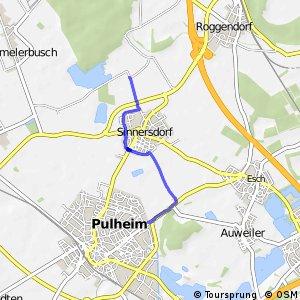 Knotennetz NRW Koeln (31) - Pulheim (33)