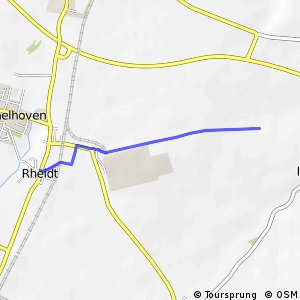 Knotennetz NRW Bergheim (21) - Pulheim (23)