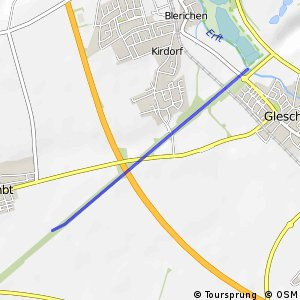 Knotennetz NRW Elsdorf (12) - Bergheim (13)