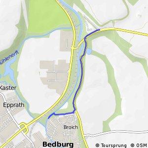 Knotennetz NRW Bedburg (15) - Grevenbroich (16)