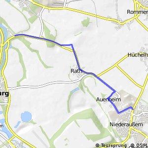 Knotennetz NRW Bergheim (07) - Grevenbroich (16)