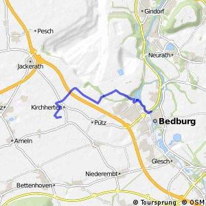 Knotennetz NRW Bedburg (08) - Bedburg (15)