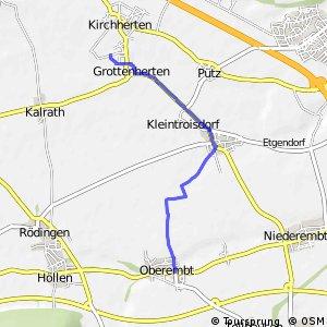 Knotennetz NRW Bedburg (08) - Elsdorf (09)