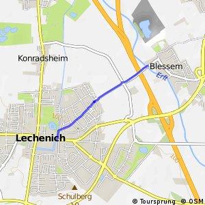 Knotennetz NRW Erftstadt (60) - Erftstadt (64)