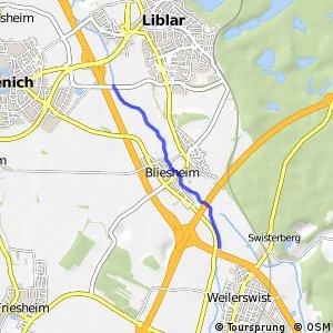 Knotennetz NRW Erftstadt (62) - Erftstadt (63)