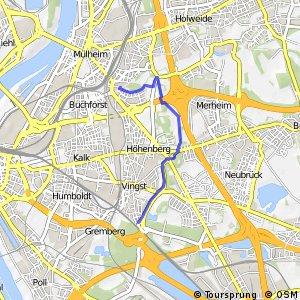Knotennetz NRW Koeln (38) - Koeln (61)