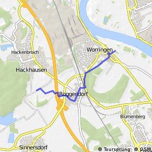 Knotennetz NRW Koeln (06) - Koeln (07)