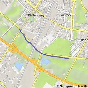 Knotennetz NRW Koeln (14) - Koeln (15)