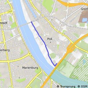 Knotennetz NRW Koeln (44) - Koeln (51)