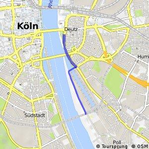 Knotennetz NRW Koeln (51) - Koeln (96)