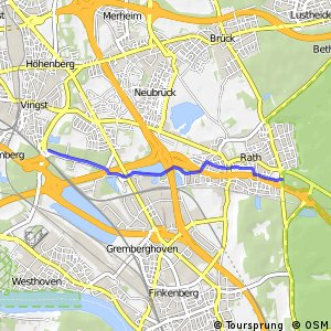 Knotennetz NRW Koeln (16) - Koeln (17)