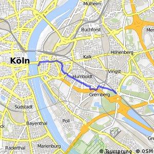 Knotennetz NRW Koeln (68) - Koeln (96)