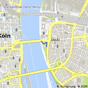 Knotennetz NRW Koeln (96) - Koeln (97)
