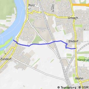 Knotennetz NRW Koeln (45) - Koeln (46)