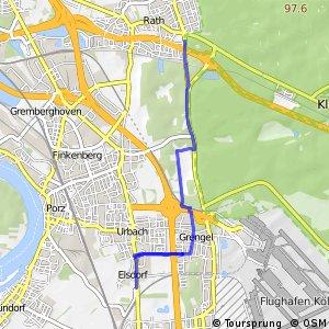 Knotennetz NRW Koeln (17) - Koeln (46)