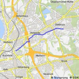 Knotennetz NRW Koeln (38) - Koeln (69)