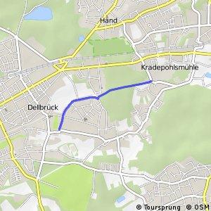 Knotennetz NRW Bergisch Gladbach (34) - Koeln (69)