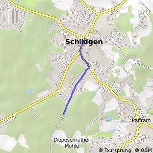 Knotennetz NRW Koeln (35) - Bergisch Gladbach (64)