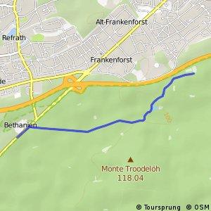Knotennetz NRW Koeln (39) - Bergisch Gladbach (75)