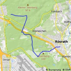 Knotennetz NRW Koeln (18) - Roesrath (95)