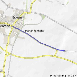 Knotennetz NRW Pulheim (26) - Rommerskirchen (74)