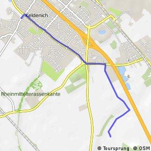 Knotennetz NRW Bornheim (11) - Wesseling (74)