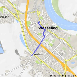 Knotennetz NRW Wesseling (74) - Wesseling (75)