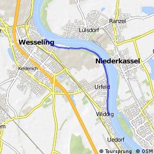 Knotennetz NRW Bornheim (12) - Wesseling (21)