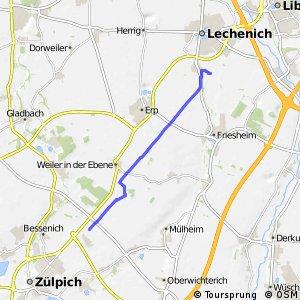 Knotennetz NRW Erftstadt (61) - Zuelpich (xx)