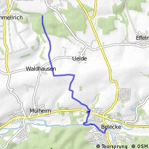 RSW (35) Anröchte-Mellrich - (36) Warstein-Belecke