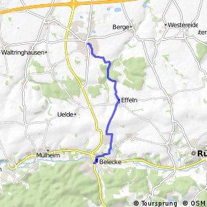 RSW (30) Anröchte - (36) Warstein-Belecke