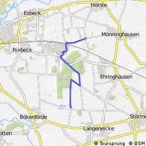 RSW (23) Lippstadt-Hörste-Öchtringhausen - (24) Geseke-Ermsinghausen