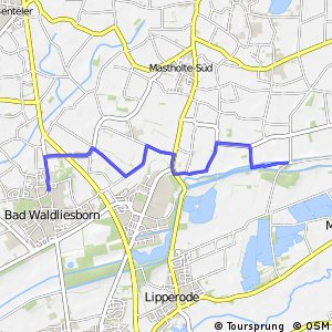 RSW (SO-18) Lippstadt-Bad Waldliesborn - (SO-21) Delbrück-Am Freien Stuhl