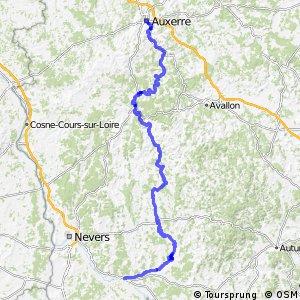 Véloroute du Canal du Nivernais