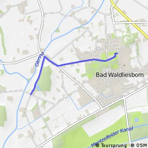 RSW (SO-17) Lippstadt-Bad Waldliesborn - (SO-18) Lippstadt-Bad Waldliesborn