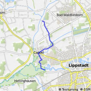 RSW (SO-16) Lippstadt-Hellinghausen - (SO-17) Lippstadt-Bad Waldliesborn
