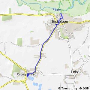 RSW (13) Lippstadt-Eickelborn - (14) Bad Sassendorf-Ostinghausen