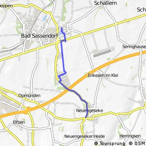 RSW (40) Bad Sassendorf-Lohne - (41) Bad Sassendorf-Neuengeseke