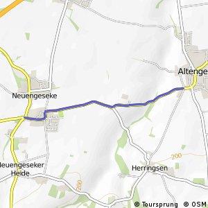 RSW (34) Anröchte-Altengeseke - (41) Bad Sassendorf-Neuengeseke