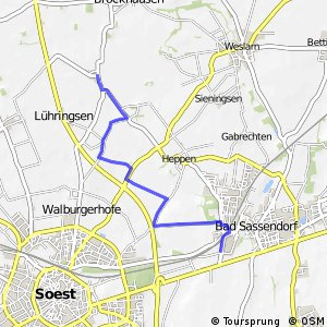 RSW (92) Soest-Thöningsen - (93) Bad Sassendorf