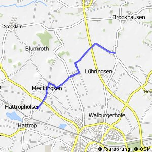 RSW (91) Soest-Hattrop - (92) Soest-Thöningsen