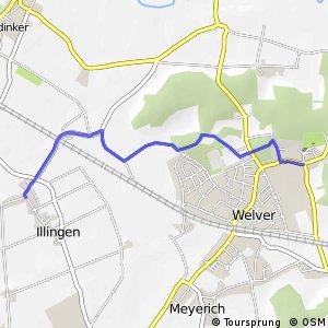 RSW (52) Welver–Kirchwelver - (53) Welver-Illingen