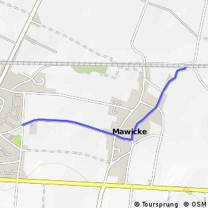 RSW (58) Werl-Westönnen - (86) Werl-Mawicke