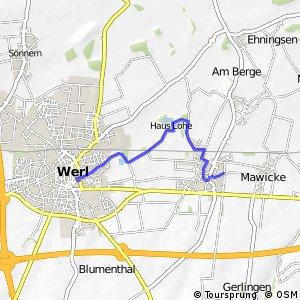 RSW (SO-57) Werl - (SO-58) Werl-Westönnen